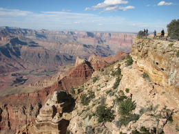 Grand Canyon - view from scenic point on Rim Trail , Deborah Ann S - November 2014
