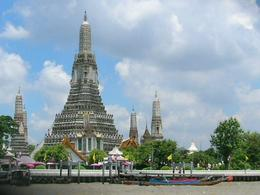 Wat Arun from River Sun Cruise on Chao Phraya River. , TARA NATH R - May 2011