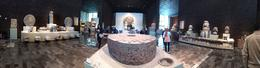 An inside panorama of the Anthropological Museum. , Amitabha - December 2014
