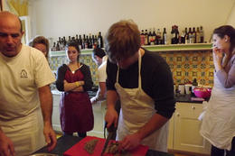 Photo of Rome Small-Group Cooking Lesson in Rome Chopping