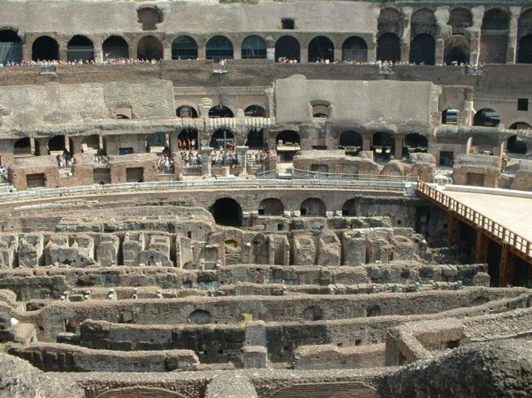 Colosseum Base - Rome