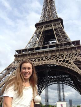 Photo of Paris Skip the Line: Eiffel Tower Tickets and Small-Group Tour Daughter's first visit to Eiffel Tower