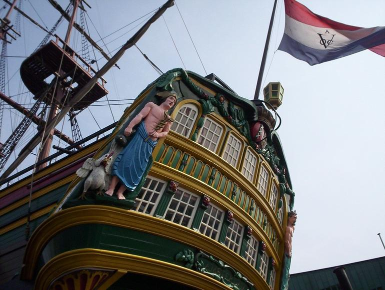 Dutch VOC Ship Amsterdam by NEMO - Amsterdam