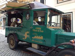This is a truck that goes through the streets of Lisbon and plays Fado Music. Fado Music is considered music that shows emotion. It is characterized by mournful tunes and lyrics about ones..., Linda F - April 2014