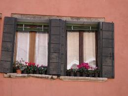 Photo of Venice Skip the Line: Venice in One Day Including Boat Tour Flowers on the windows