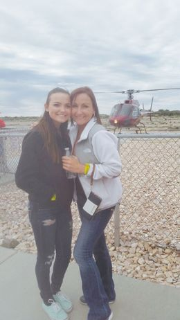 My daughter was completely surprised that we were doing a helicopter tour. Talk about squealing like a little girl!!!!! Just an awesome experience. , Tressa S - April 2015