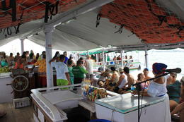 On the boat: music and fun. , FJJ V - October 2012
