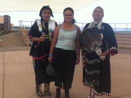 I became friends with mother and daughter Indians , Malou - May 2013