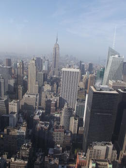 NEVER SEEN THE EMPIRE STATE LIKE THIS BEFORE , SANDRA W - May 2011