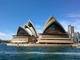 View from the Sydney harbor cruise. Beautiful , Matthew M - October 2013
