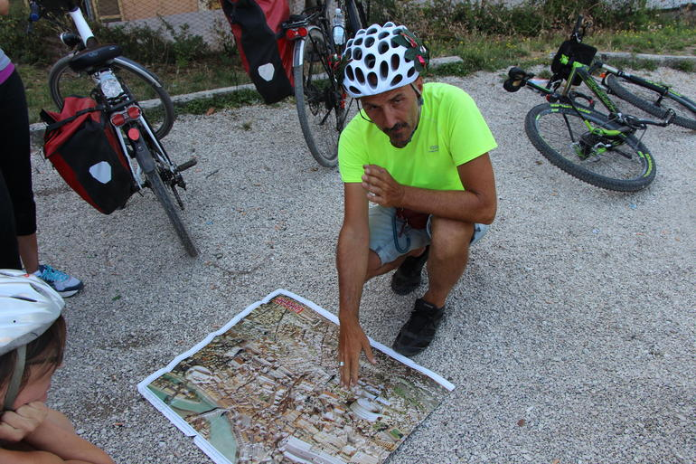 Our tour guide - very helpful and knowledgeable. - Rome