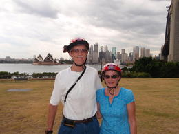 Sydney Opera house in the background. How cool is that! , David L - February 2011