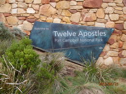 12 apostles viewing area , ath30 - July 2012