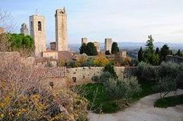 Photo of Florence Siena and San Gimignano Day Trip from Florence San Gimignano skyline