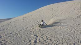 Photo of Perth Pinnacles Desert, Koalas and Sandboarding 4WD Day Tour from Perth Sandboarding