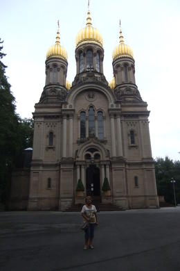 The Russian Church at Neroberg, Wiesbaden, during Wiesbaden and Mainz Day Trip from Frankfurt. , Mario S - July 2014