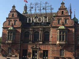 Tivoli in Copenhagen , Israel A - November 2015