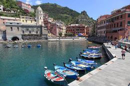 Vernazza's small bay. , Curtis M - July 2013