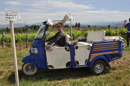 Photo of Florence Vespa Small Group Day Trip to the Chianti Wine Region VESPA TOUR CHIANTI WINE REGION