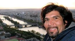 view from Eiffel 2nd floor of the Seine River, Albert R - November 2009