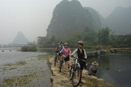 Photo of Guilin 7-Day Yangshuo Bike Adventure Including Longji Rice Terraces Hike and Li River Cruise Trail on Yangshuo Bike Adventure