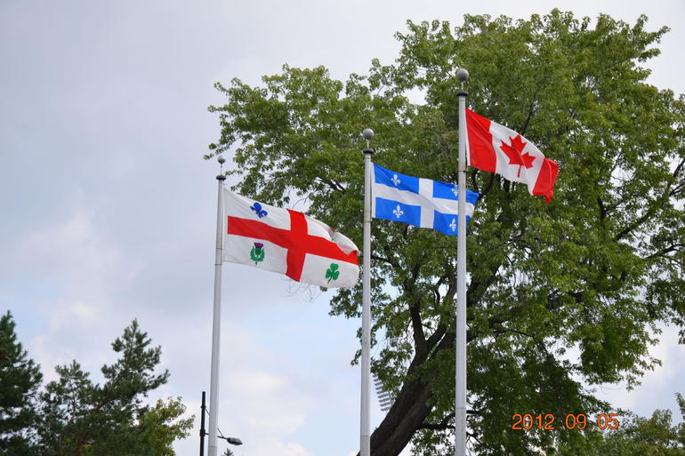 Flags - Montreal