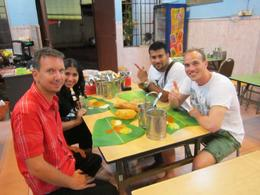 Visitors from all over the world enjoying our food tour! - July 2012