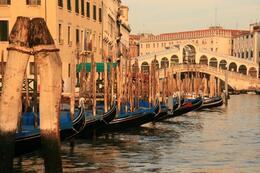 Photo of   Gondolas at Rest