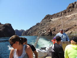 Photo of Las Vegas Hoover Dam Top to Bottom by Luxury SUV with Colorado River Float hoover dam