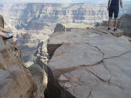 Grand Canyon next to the skywalk , Michael C - September 2012
