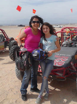 Photo of Las Vegas Mini Baja Buggy Half-Day Tour from Las Vegas Linda & Lauren