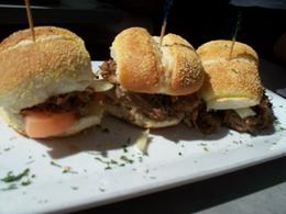 some kind of beef sliders....very good , Dawn O - February 2014