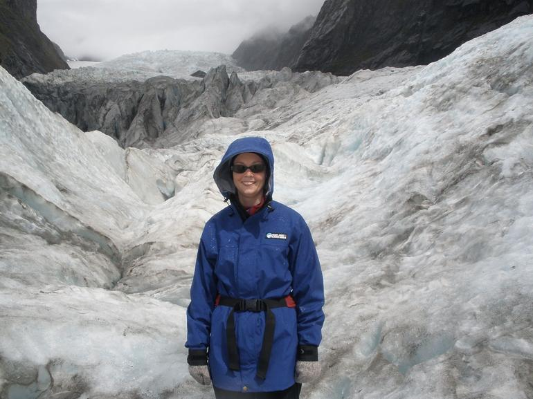 Me on the glacier - Franz Josef & Fox Glacier