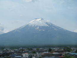 We got some great photos of Mt. Fuji - but this is a favourite as it shows a more complete view. , Chris N - June 2013