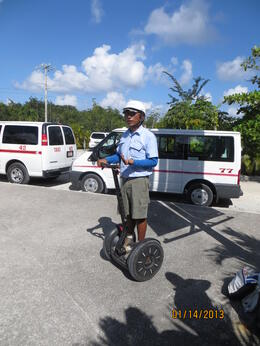 Photo of Cozumel Cozumel Segway and Snorkel Adventure Tour Our Segway Mentor