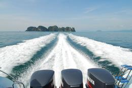 Onward to Krabi, in speedboat style!, Jeff - May 2008