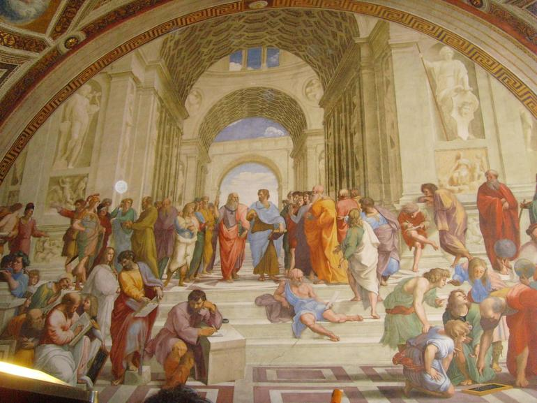 Raphael's School of Athens (Vatican Museum) - Photo by Jay G | Viator