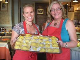 Photo of Rome Rome Walking Tour and Cooking Class Ravioli!