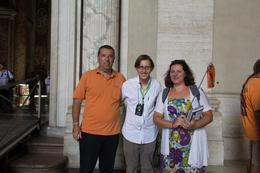 My wife, myself and our guide. , Mario N - August 2014