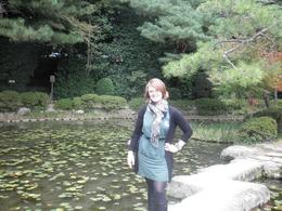 Me at the Heian Shrine's garden, KELLY W - November 2010
