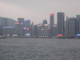 Photo of Hong Kong Hong Kong Harbor Night Cruise and Dinner at Lei Yue Mun Seafood Village The view of Hong Kong