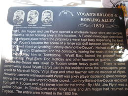 Vogan's Saloon and Bowling Alley, charley - June 2012