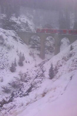 Photo of   Very nice to see from the glacier express !!