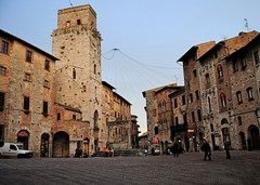 one of two famous squares in San Gimignano., Austin C - December 2009