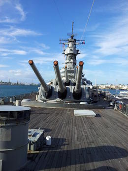 On the Deck of the USS Missouri. , Phillip M - February 2012