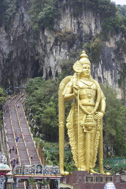 Photo of Kuala Lumpur Private Tour: Kuala Lumpur Grand Full-Day Tour including Lunch Batu Caves