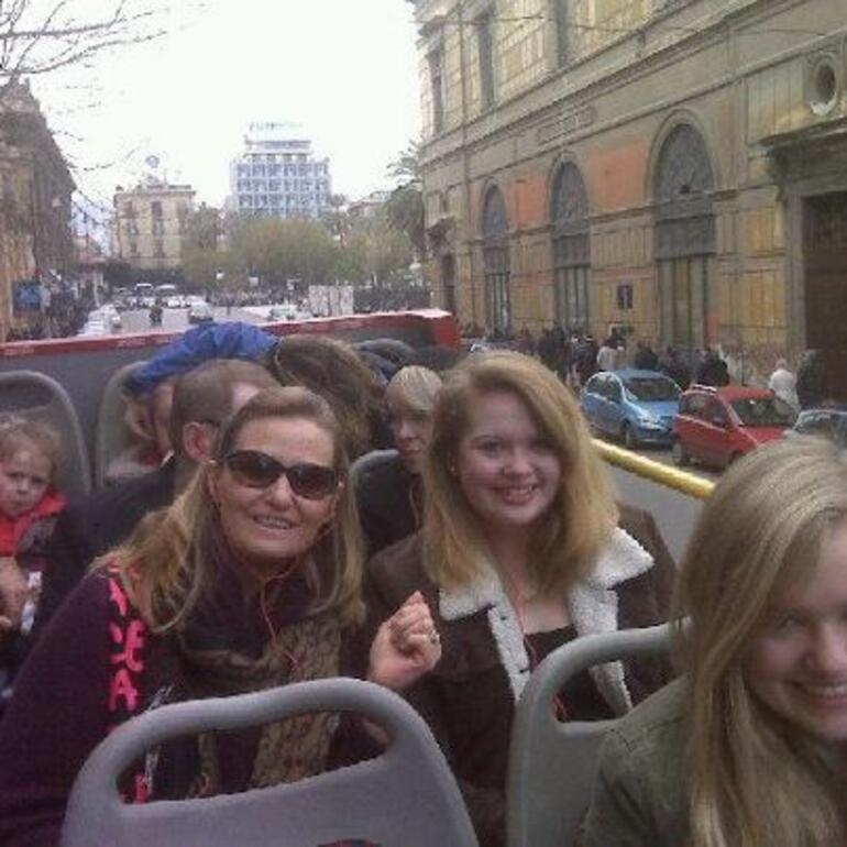 Braving the weather in Sicily! - Palermo