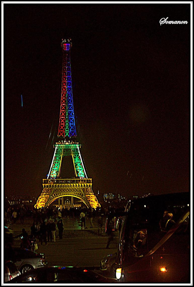 Eiffel at night - Paris