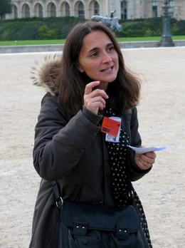 Louvre tour guide, she was excellent!, Albert R - November 2009