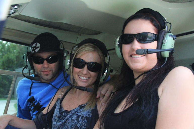 First Helicopter Ride -